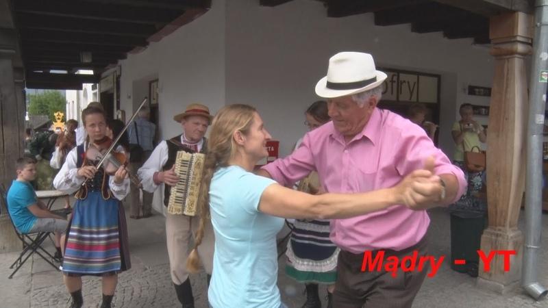 Popisowy taniec starszego Pana ! Gra słynna Kapela Zdzisława MARCZUKA, Kazimierz Dolny 2015