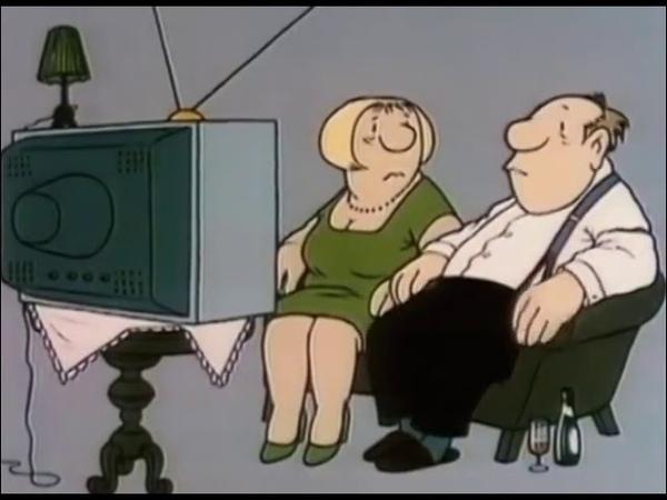 Loriot Szenen einer Ehe Fernseher kaputt