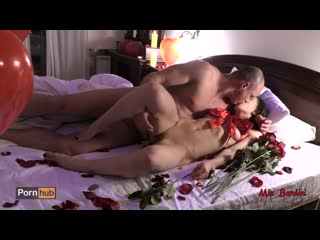 Mia bandini romantic valentine's day surprise for my love turned to hot sex.