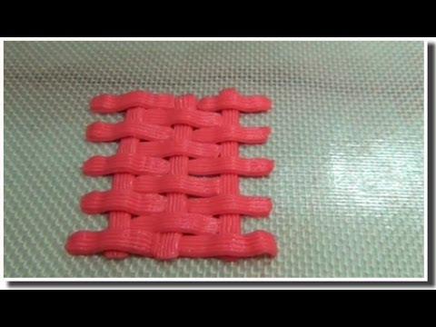 Урок №4. Плетение сладких корзинок