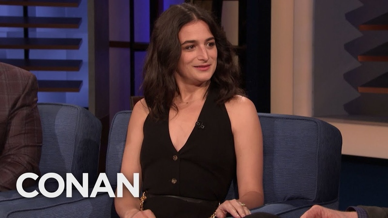How Jenny Slate's Dad Responded To Her Teenage Rage - CONAN on TBS