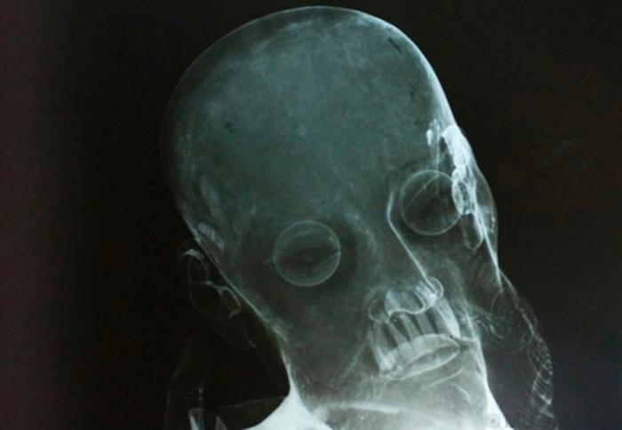 10 странных вещей, которые были найдены внутри статуй, изображение №4