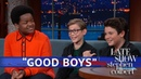 Jacob Tremblay Brady Noon And Keith L Williams Discuss Their First Kisses