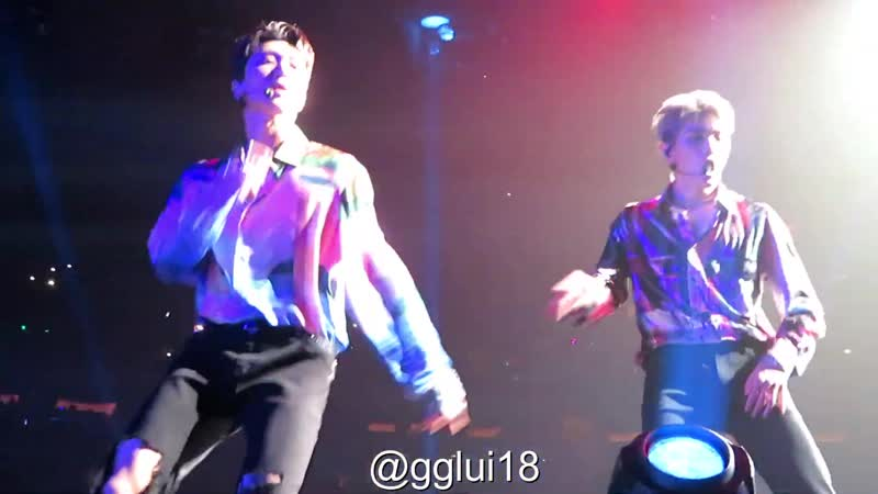 191119 NCT U - Baby Don`t Stop ¦ Taeyong x Ten SuperM in NY MSG