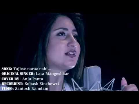 Tujse naraz nahi he zindagi | COVER HINDI SONG by NEPALI singer ANJU PANTA