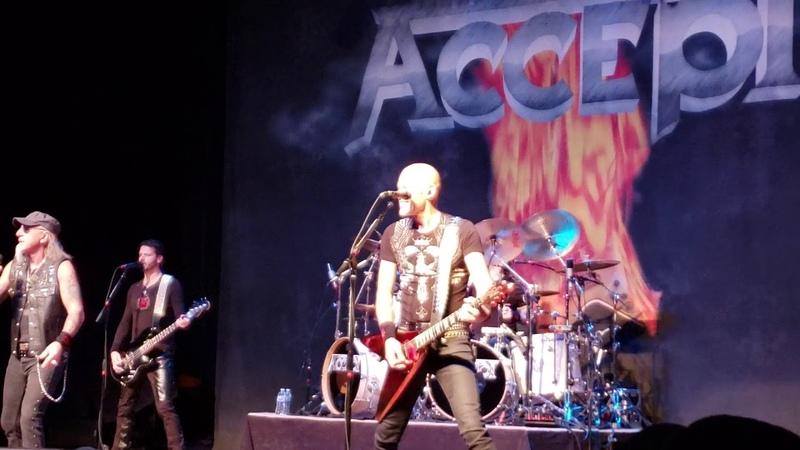 Accept Koolaid Live @ Arcada Theatre St Charles IL 11 8 19