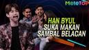 Lawak Han Byul suka sambal belacan MeleTOP Irfan Haris Neeta Adzrin
