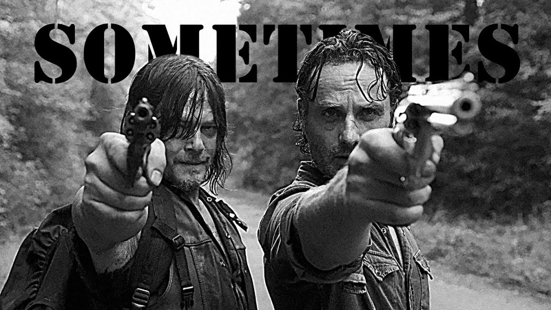 The Walking Dead || Daryl Dixon Rick Grimes - Sometimes (Chip'n'Dale style)