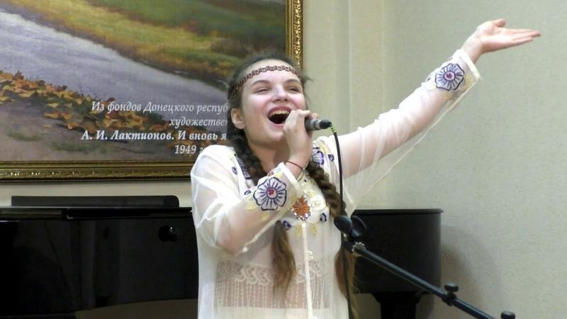 Финал конкурса исполнителей народной песни Голос Родины солисты