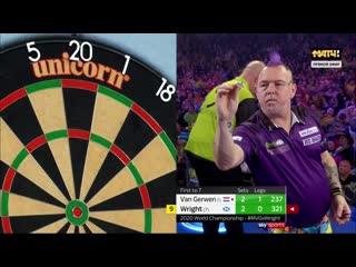 Peter Wright vs Michael van Gerwen (PDC World Darts Championship 2020 / Final)