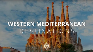 Enjoy a Western Mediterranean Sea cruise with MSC Cruises