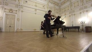 Ilya Gringolts and Peter Laul play Dvorak Sonatina op. 100