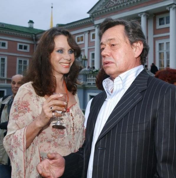 Любовь Полищук и Николай Караченцов