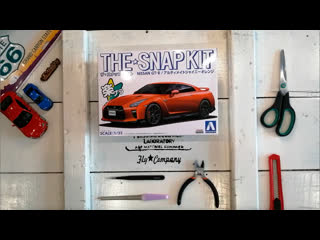 The Snap Kit ★ Nissan GT-R R35