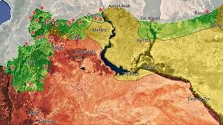 REPORTE GUERRA SIRIA  Mapa Situación Militar [DAMASCO Nuevo Ataque Zionista / IDLIB Fase 2]