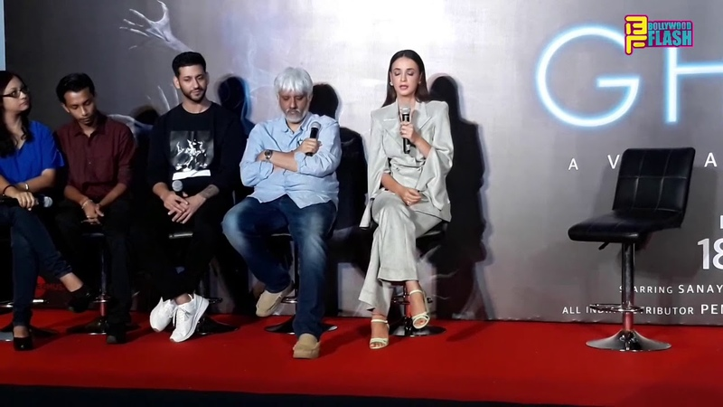 Sanaya Irani, Vikram Bhatt Shivam Bhaargava - Chit Chat - Ghost Movie Press Conference