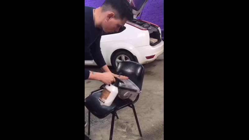 Бронирование фар полиуретановой плёнкой Hexis Bodyfence
