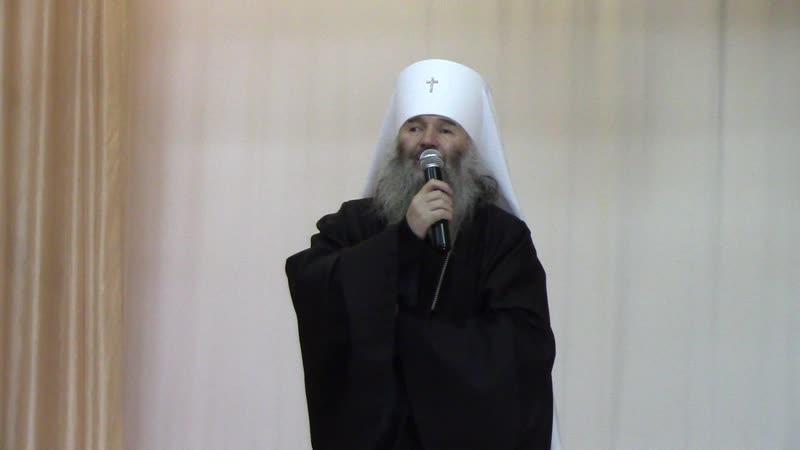 13 декабря в день памяти святого апостола Андрея Первозванного митрополит Йошкар Олинский и Марийский Иоанн посетил 3 школу