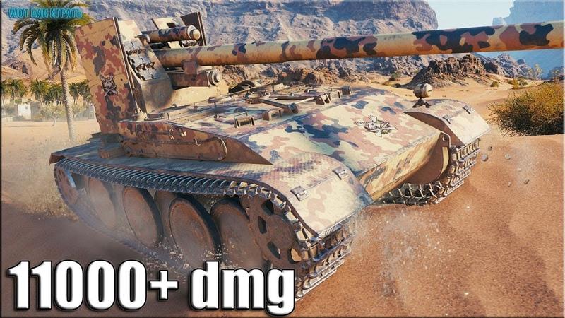 Бессердечный ВБР бой на Grille 15 World of Tanks
