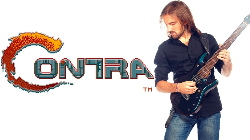 ➡ Contra All stages soundtrack Metal cover nes dendy With gameplay