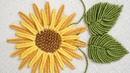 BRAZILIAN EMBROIDERY TUTORIALS How to stitch flowers