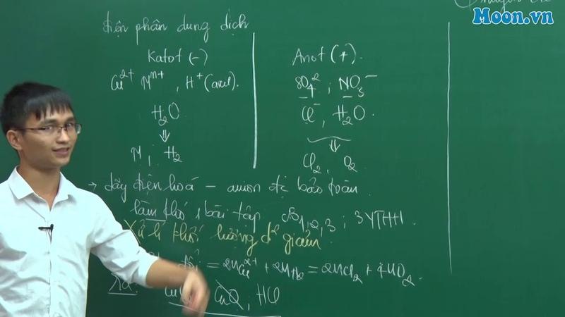 Chuyên đề ĐIỆN PHÂN DUNG DỊCH Phương pháp điện phân