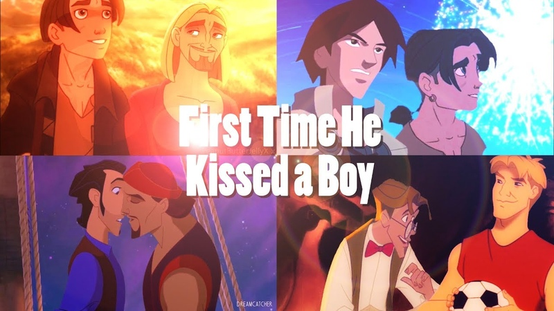 ❝First Time He Kissed A Boy❞ Slash Non/Disney Mep