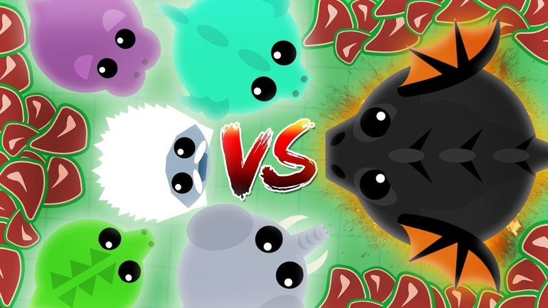 SOLO KING DRAGON || BLACK DRAGON VS BLACK DRAGON BEST EPIC FIGHT (Comeback) MOPE.IO