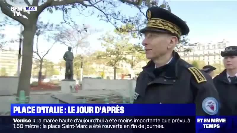 Le préfet de police à une femme giletjaune Nous ne sommes pas dans le même camp madame