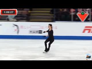 Evgenia medvedeva sp practice skate canada 2019 евгения медведева кп тренироа