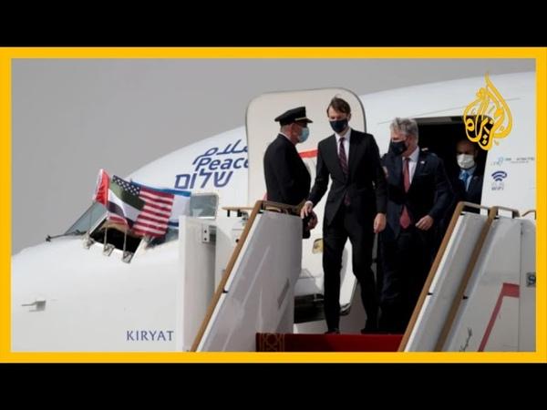 🇸🇦 🇦🇪التطبيع كوشنر يشكر السعودية لسماحها بعبور الطائرة الإسرائيلية إلى أبوظبي وفصائل فلسطين تستنكر