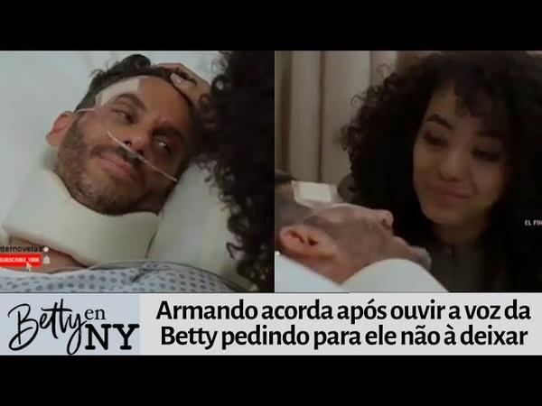 Betty em Nova York - Armando acorda após ouvir a voz de Betty pedindo para ele não à deixar