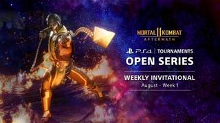 PS4 Tournaments : Open Series - Mortal Kombat 11 Weekly Invitationals NA