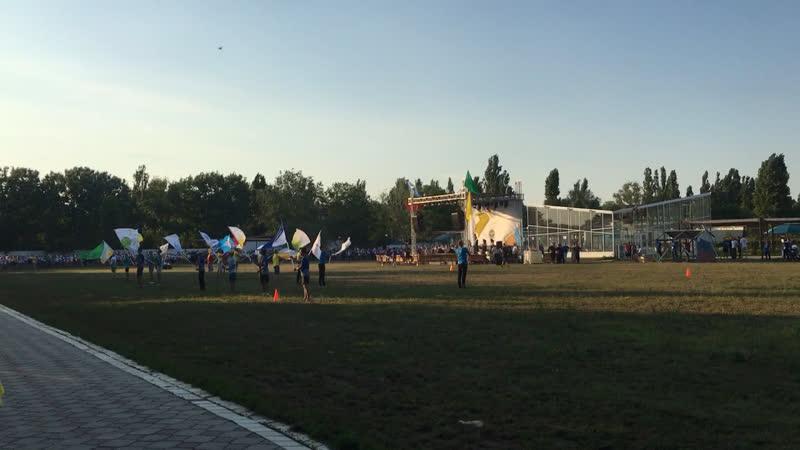 Флаги Пожарка 2 смена 2019г