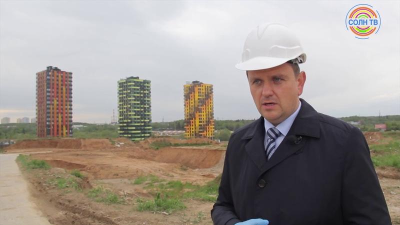 Строительство ЖК Новый Зеленоград проверили на соблюдение санитарных норм