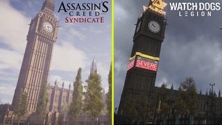 Watch Dogs Legion vs Assassin's Creed Syndicate - London Landmarks Comparison (4K60fps)
