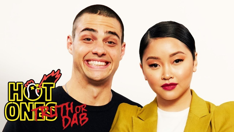 Noah Centineo and Lana Condor Play Truth or Dab   Hot Ones