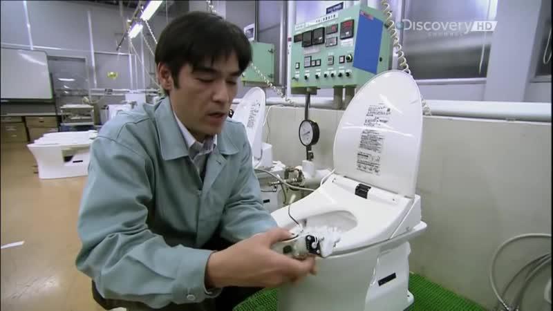 Японские умные унитазы TOTO ¦ Как это сделано mp4