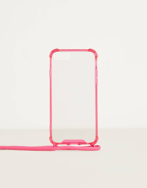 Чехол для iPhone 6 / 7 / 8 со шнурком