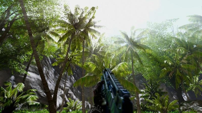 Crysis HD textures BlackFire's Mod ReShade
