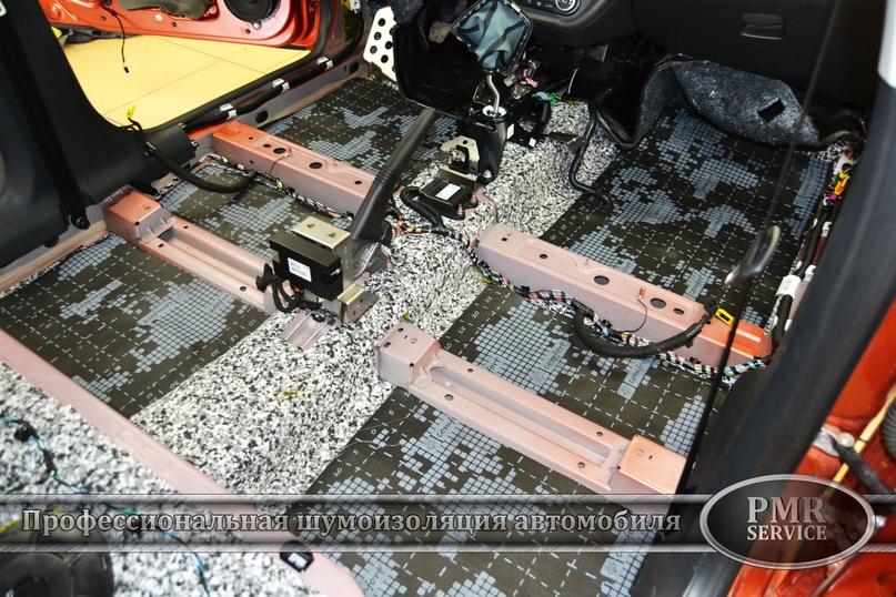 Шумоизоляция Lada Vesta SW Cross, изображение №4