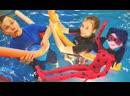 Лучшие Подружки • Челлендж в Ква-Ква парке — Видео для детей — Аквапарк в Москве