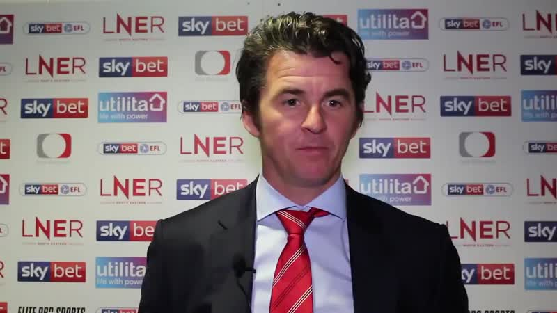 Reaction from @Joey7Barton after todays defeat at @drfc_official. - - Full interview on iFollow .mp4