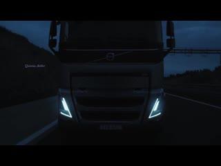 Музыкальный клип. итало-диско. Новый Volvo Trucks-FH. Объемный Звук 5.1