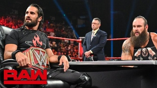 [WBSOFG] The O.C. interrupt contract signing between Seth Rollins and Braun Strowman: Raw, Sept. 2, 2019