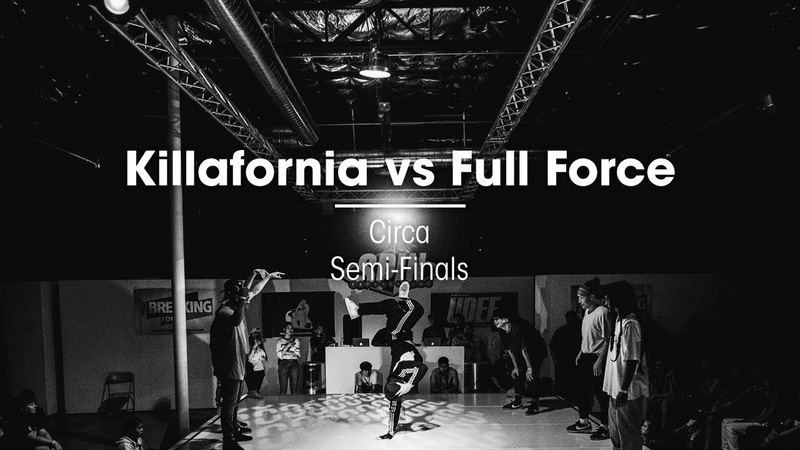 Killafornia vs Full Force [Semi Finals] .stance - SPIN LAS VEGAS