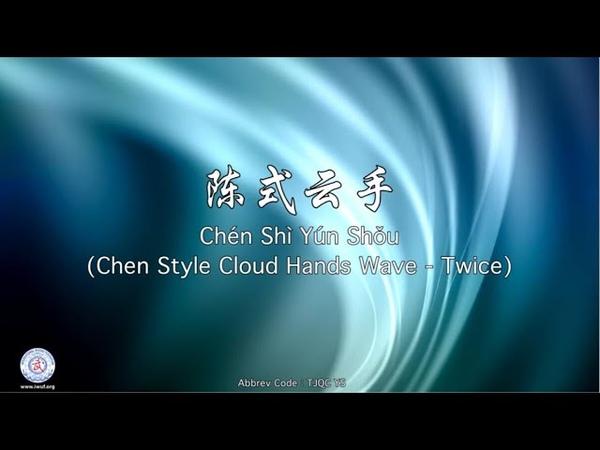 Chén Shì Yún Shǒu TJQC YS Chen Style Cloud Hands Wave Twice
