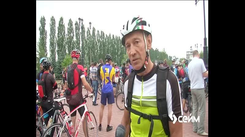 В регионе состоялся велопробег «Курская дуга»