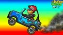 про гонки на крутых тачках Аварии безумные машинки в игре Hill Climb Racing 2