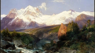 Beethoven - Piano Sonata No. 32 and Thomas Moran (1837-1926)